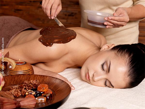Kakaobutter-Körperpackung