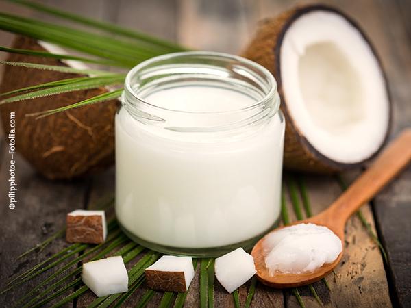 Kokos-Körperpackung