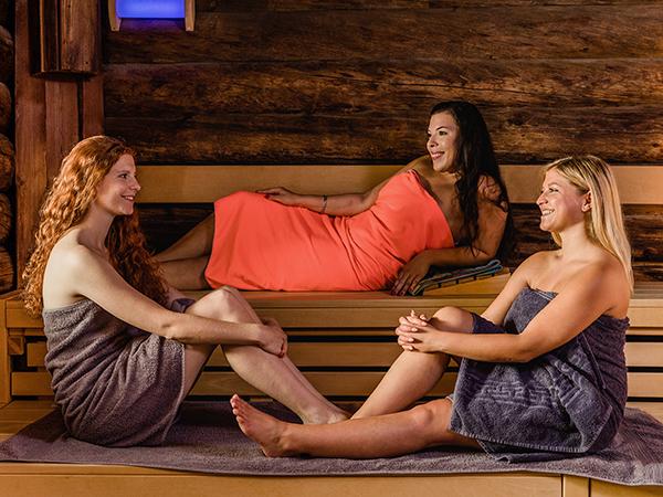 Well-Feeling-Unser Angebot zur Damensauna, nur montags