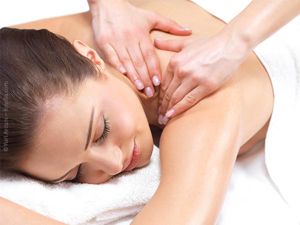 Relax-Rückenmassage 15 Minuten für zwei
